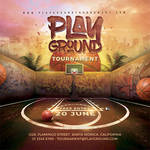 Basketball Playground Tournament Flyer by n2n44