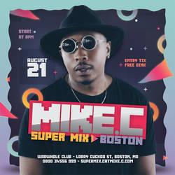 DJ Mix Night Flyer by n2n44