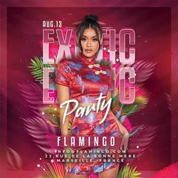 Exotic Club Night Flyer by n2n44