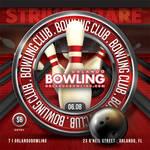Bowling Night Sport Flyer by n2n44