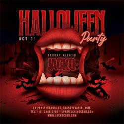 Spooky Halloween Night Flyer by n2n44