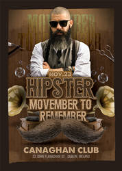 Hipster Movember To Remember by n2n44