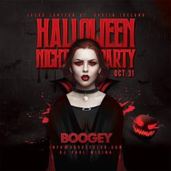 Halloween Night Party Flyer by n2n44