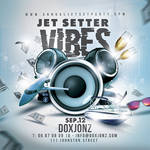 Jetsetter Vibes Party Flyer by n2n44