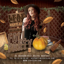 Fall Party Flyer by n2n44
