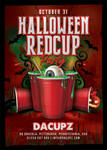 Halloween Red Cup Party Flyer by n2n44