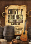 Country Music Saloon Concert Flyer by n2n44