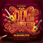 Dia De Los Muertos Flyer by n2n44