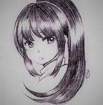 Girl Sketch 16