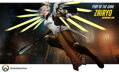 Overwatch Mercy Commission