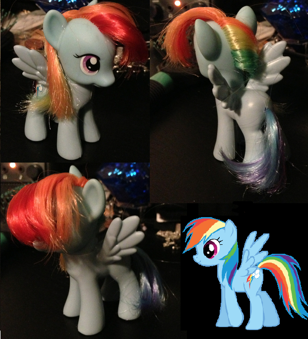 Rainbow Dash Custom by BritishNicky
