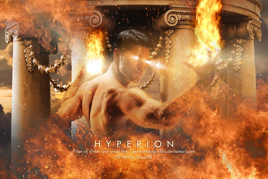 Hyperion - Titan of Vision and Astral Fire by HernanFotografias