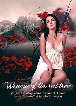 Woman of the red tree