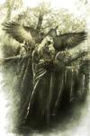 Raven dance by Blavatskaya