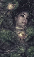 Flowers in troubled waters by Blavatskaya