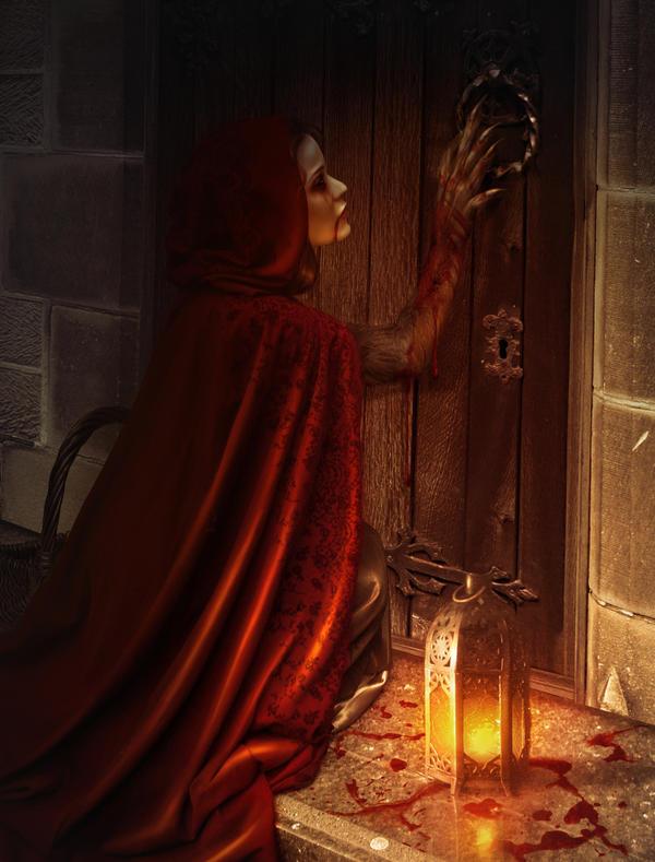 Little Red Riding Wolf by Blavatskaya
