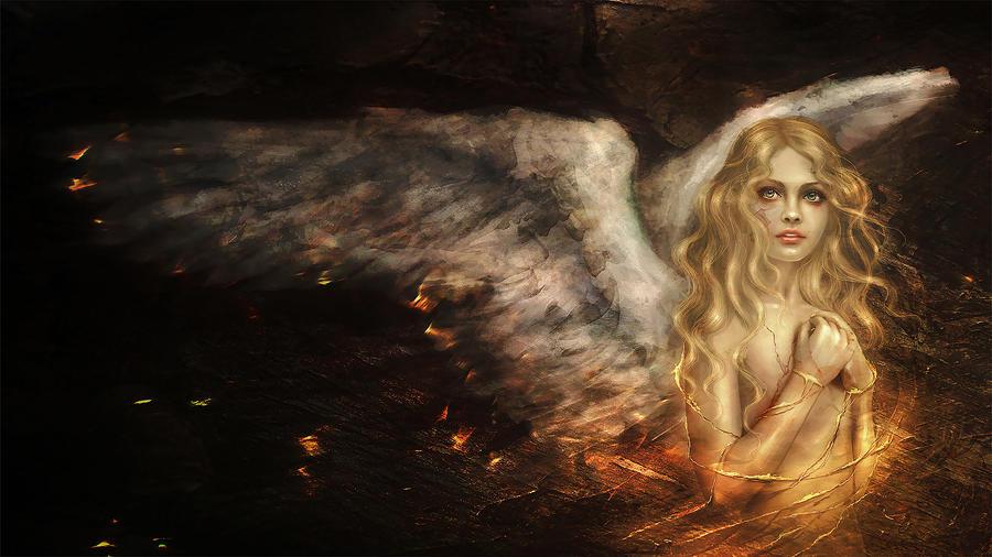 angel of fantasie blonde muschi