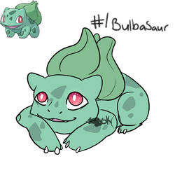 #1 Bulbasaur by Babicted