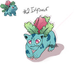 Day #2 - Ivysaur by Babicted