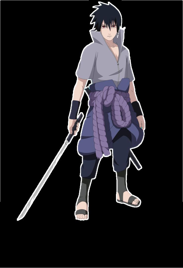 naruto anime wallpapers: sasuke action  |Sasuke Kirin Render