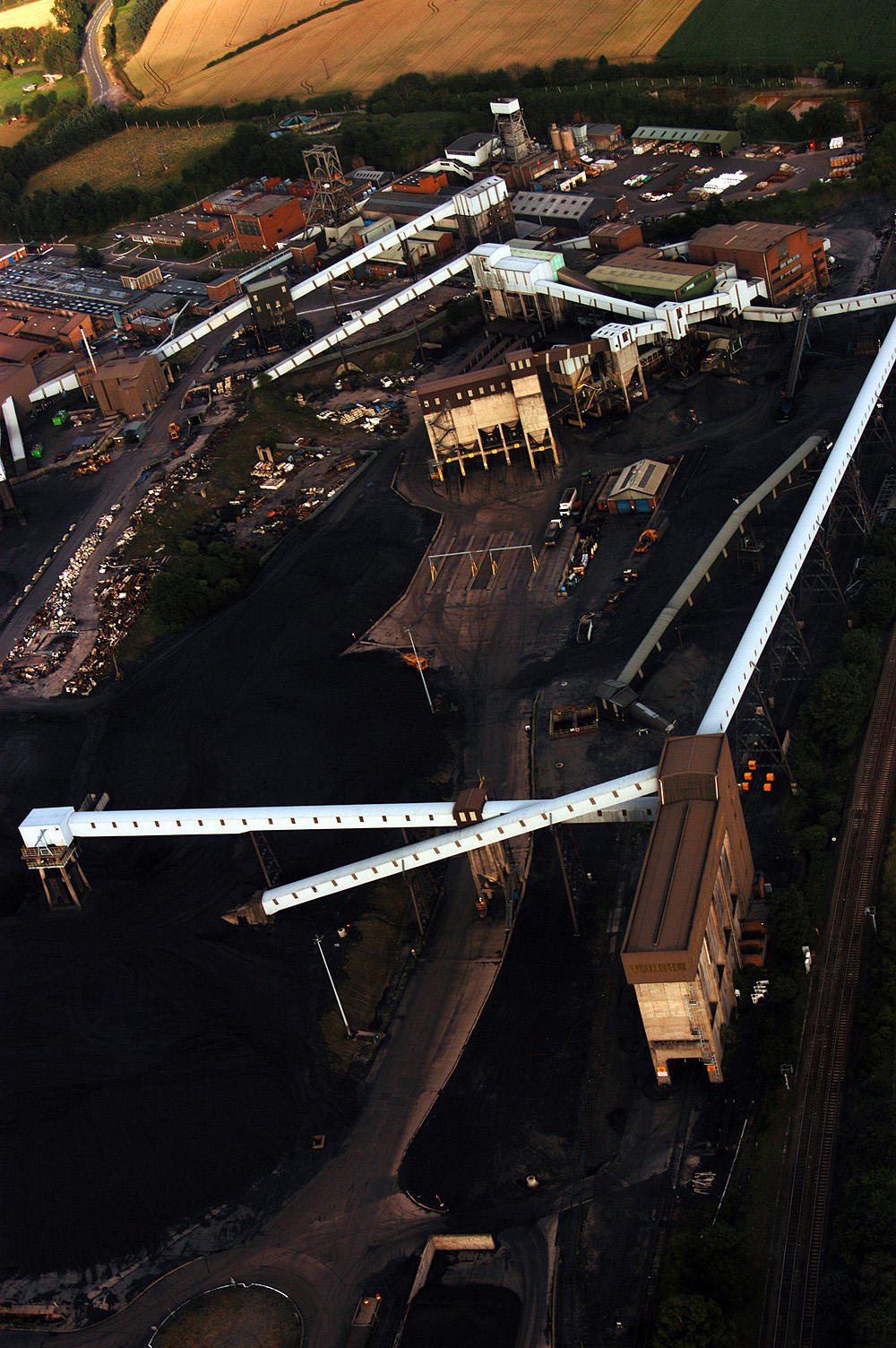 aerial photograph - industrial by dustfactory on DeviantArt