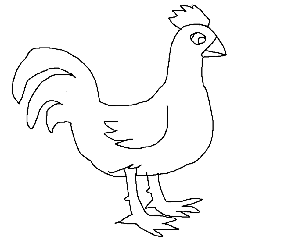 Rooster Template by MrBig2 on DeviantArt