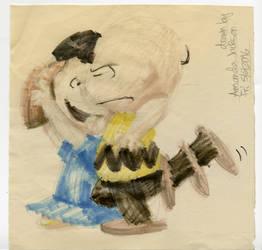Charlie Brown And Lucy Van Pelt by MrBig2