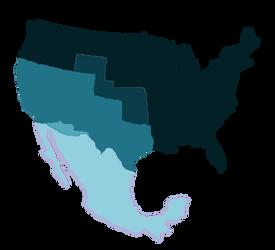 Los Dos Estados Unidos by MrBig2