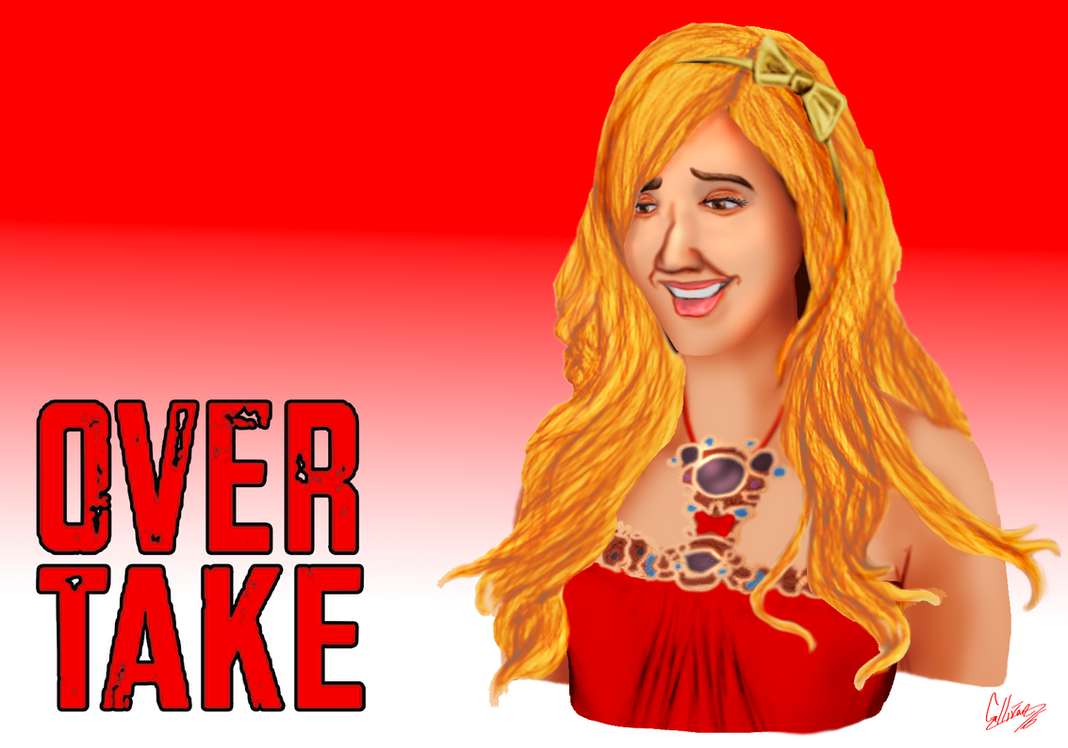 Over Take: Sharpay Evans by TransformNightMare