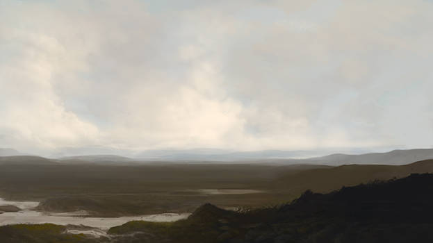 Landscape Sketch (Variation 2)