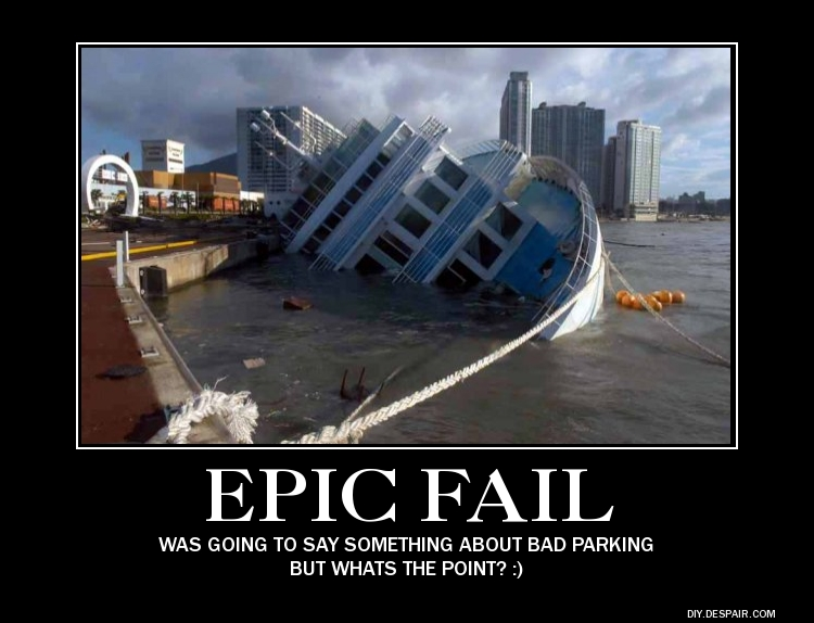 Epic Ship Fail by fredrickburn