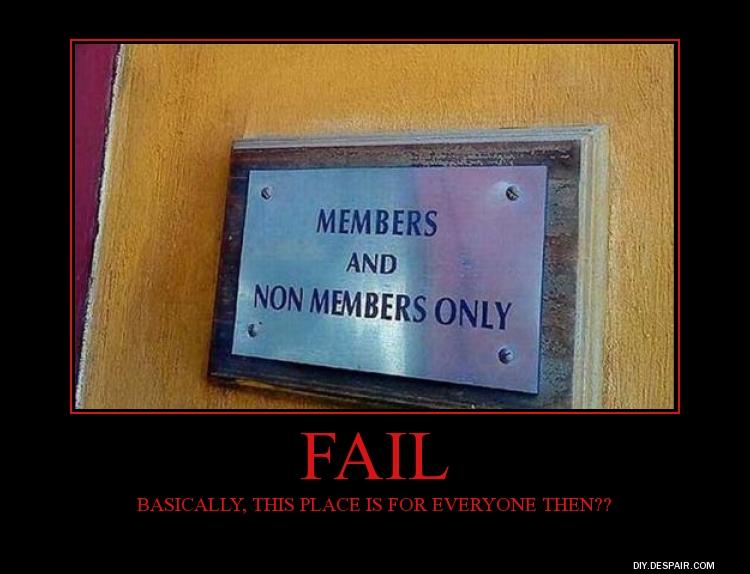 Member Fail by fredrickburn