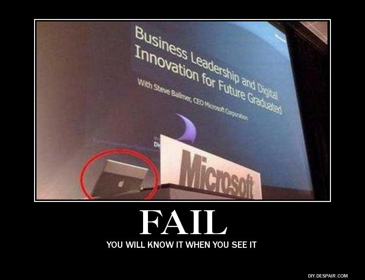 Computer Fail by fredrickburn
