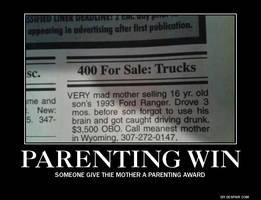 Parenting Win by fredrickburn