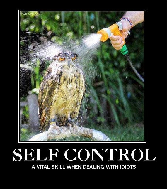 Self Control by fredrickburn