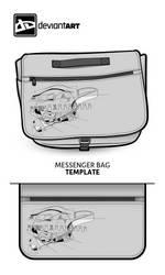 Cubist Messenger Bag on a messenger bag