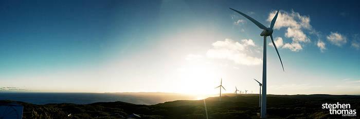 Albany Wind Farm by esemte