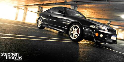 Nissan Skyline R33 GTST by esemte