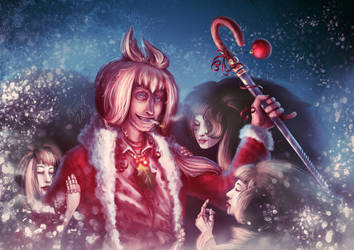holiday cheer by Aviul