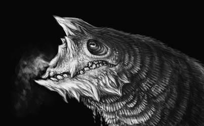 chunky dragon by Aviul