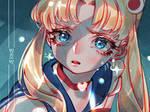 Art challenge-Sailor moon redraw