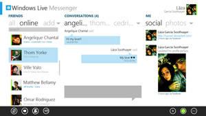 Windows Live Messenger Metro Concept