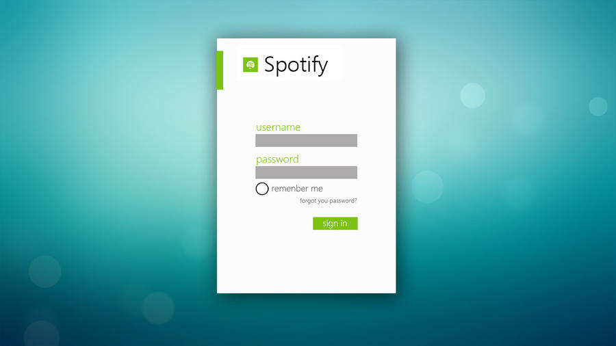 Spotify Metro Concept by LuunArt