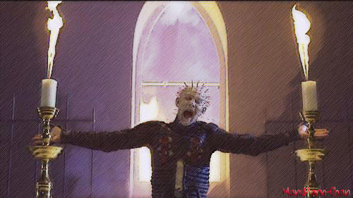 Pinhead in the Church!