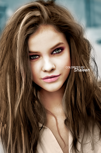 Barbara palvin age 15 colorizacion barbara palvin by