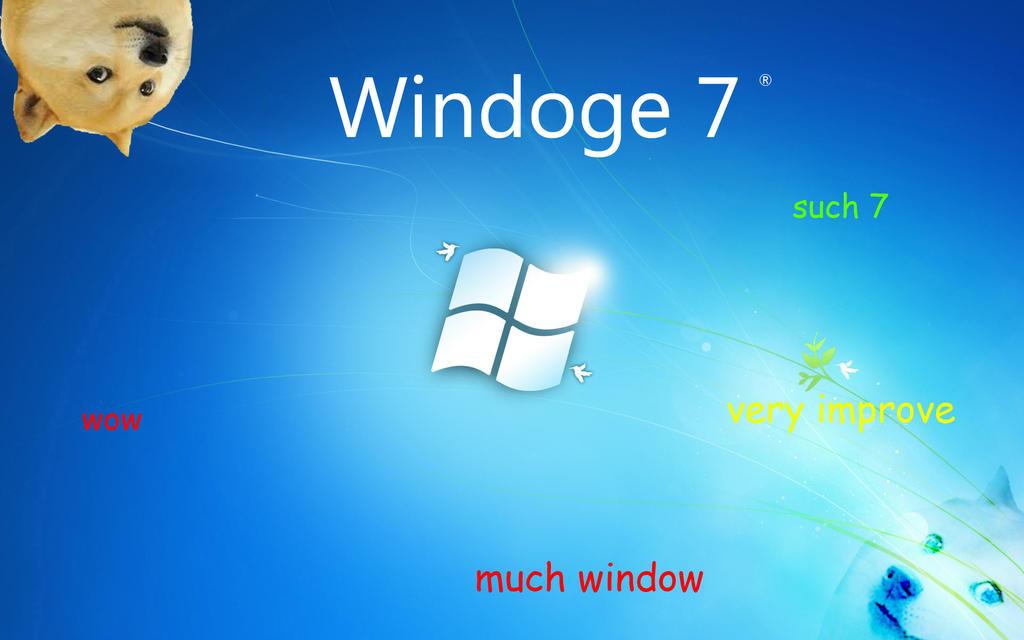 Windoge Wallpaper Windoge 7 Wallpaper by