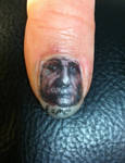 albert thumb nail tattoo