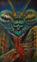 mantis paintng