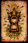 keyhole postcard