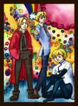 Ed, Tamaki and Fai
